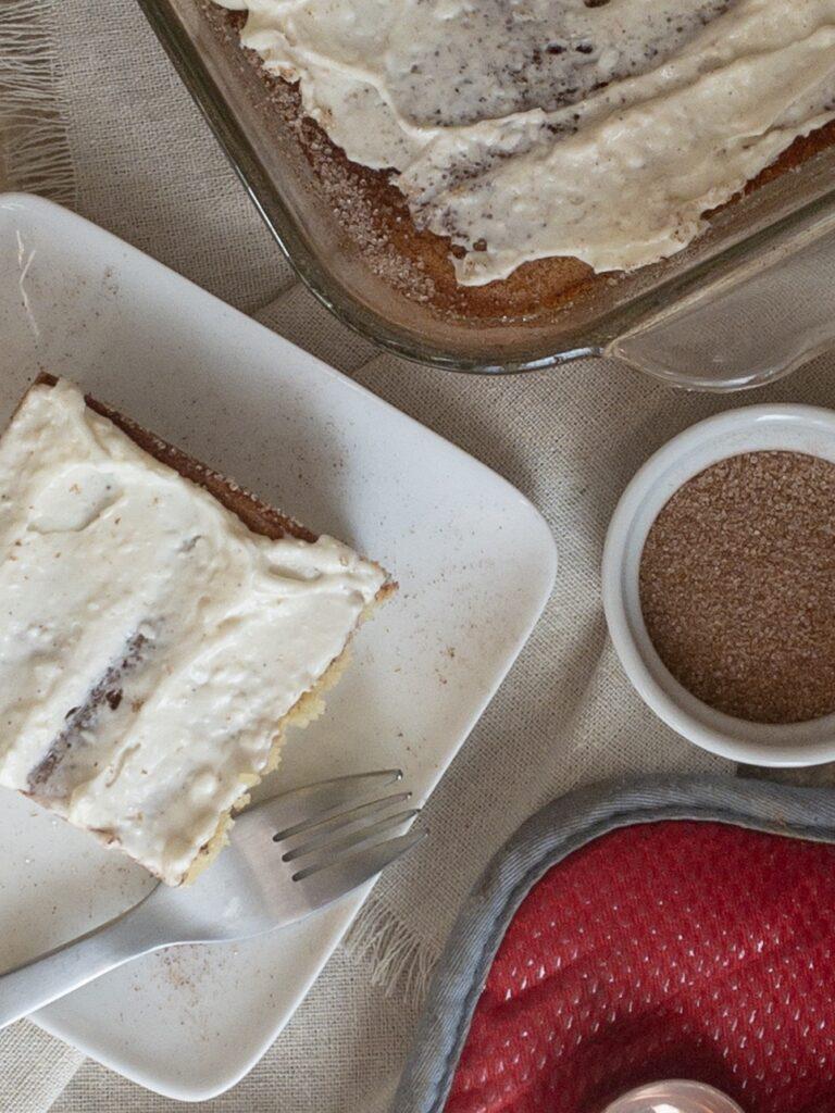 Keto Cinnamon Coffee Cake