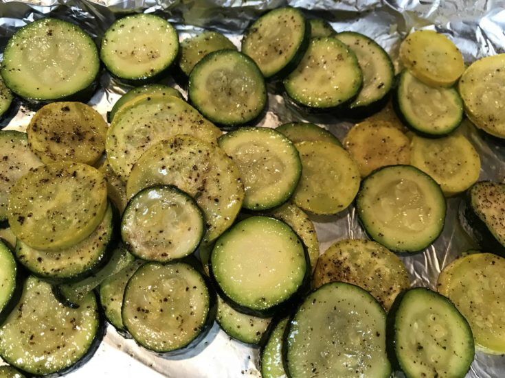 Peppered Zucchini