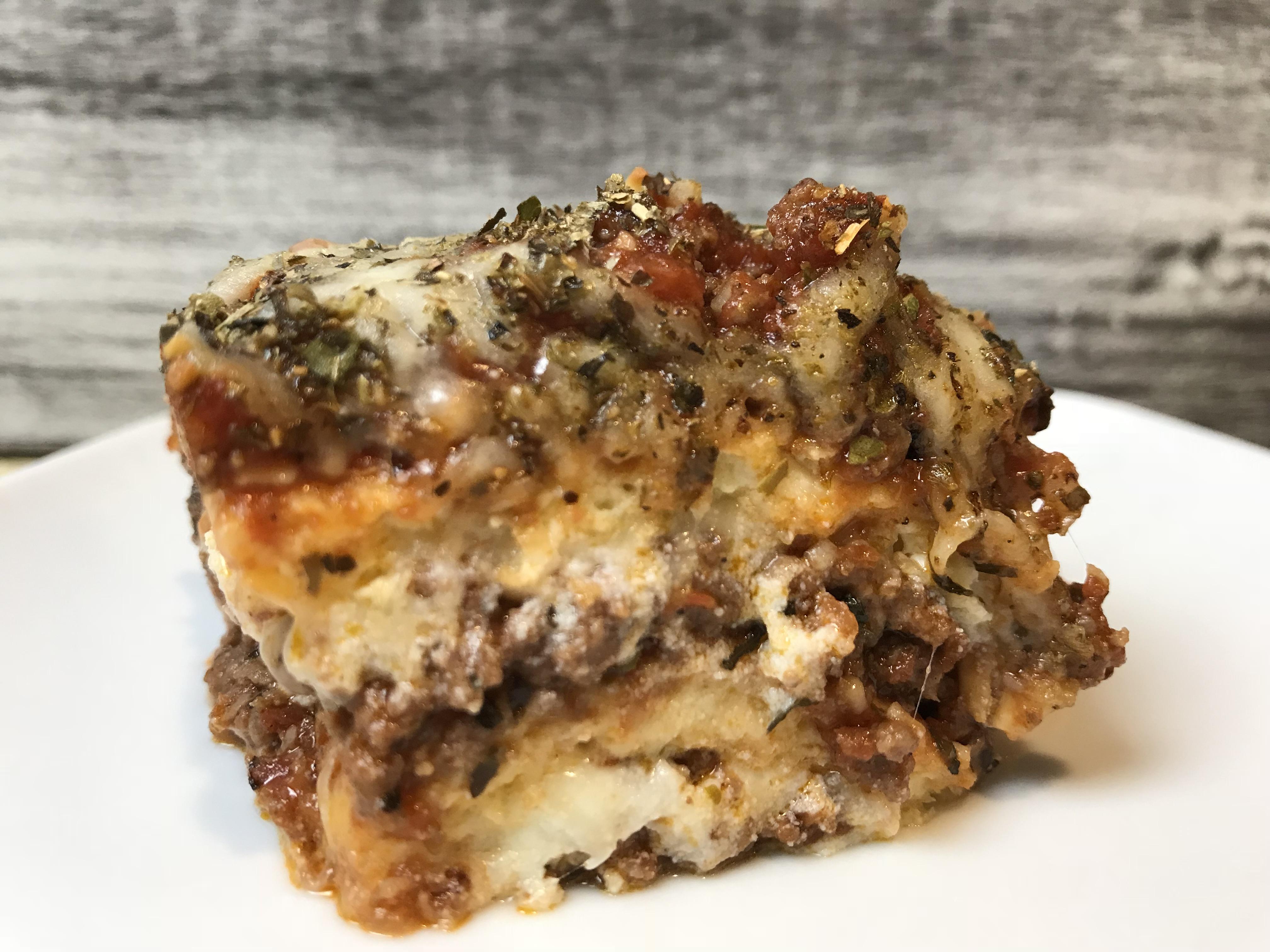Easy Keto Recipe Meat Lasagna