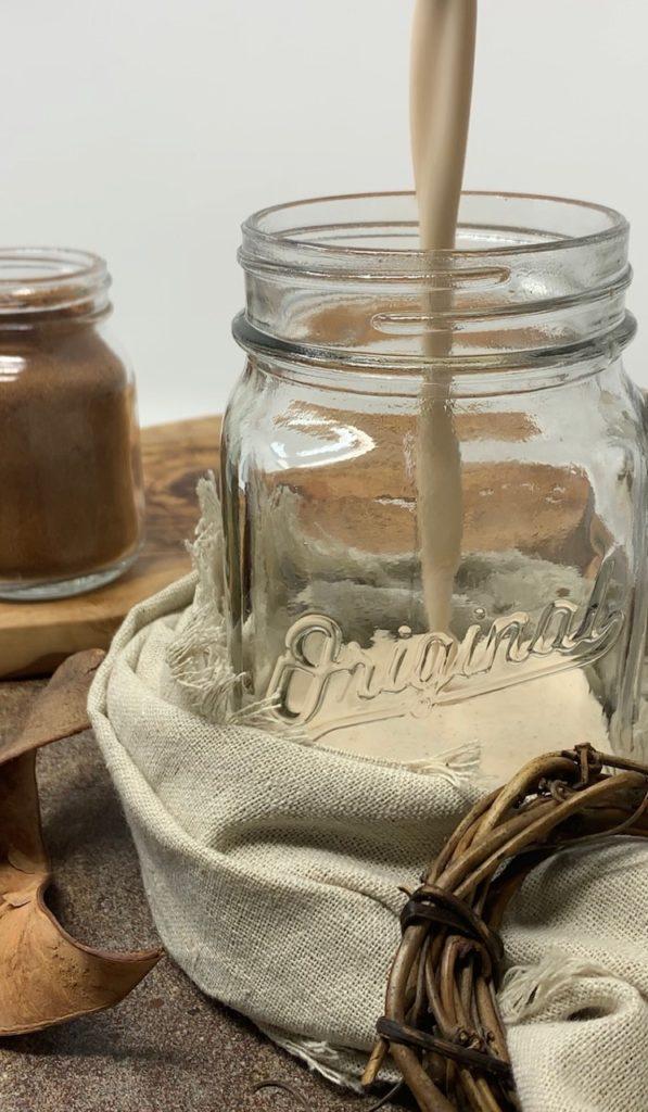 Keto Almond Butter Collagen Smoothie