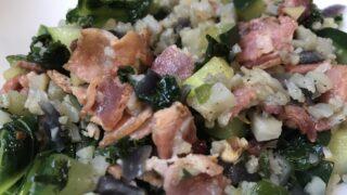 """""""Kale""""-iflower & Bacon Side"""