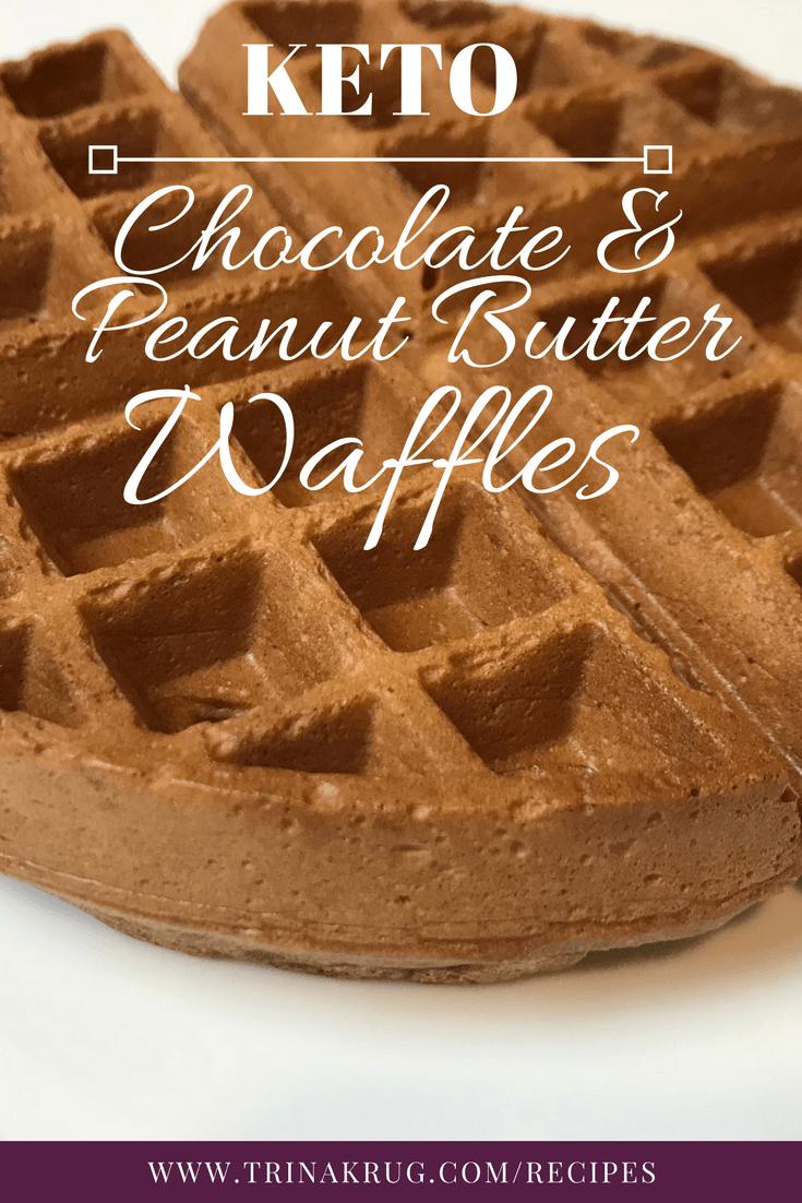 Chocolate Peanut Butter Waffles The Keto Option Keto The Healthy Way