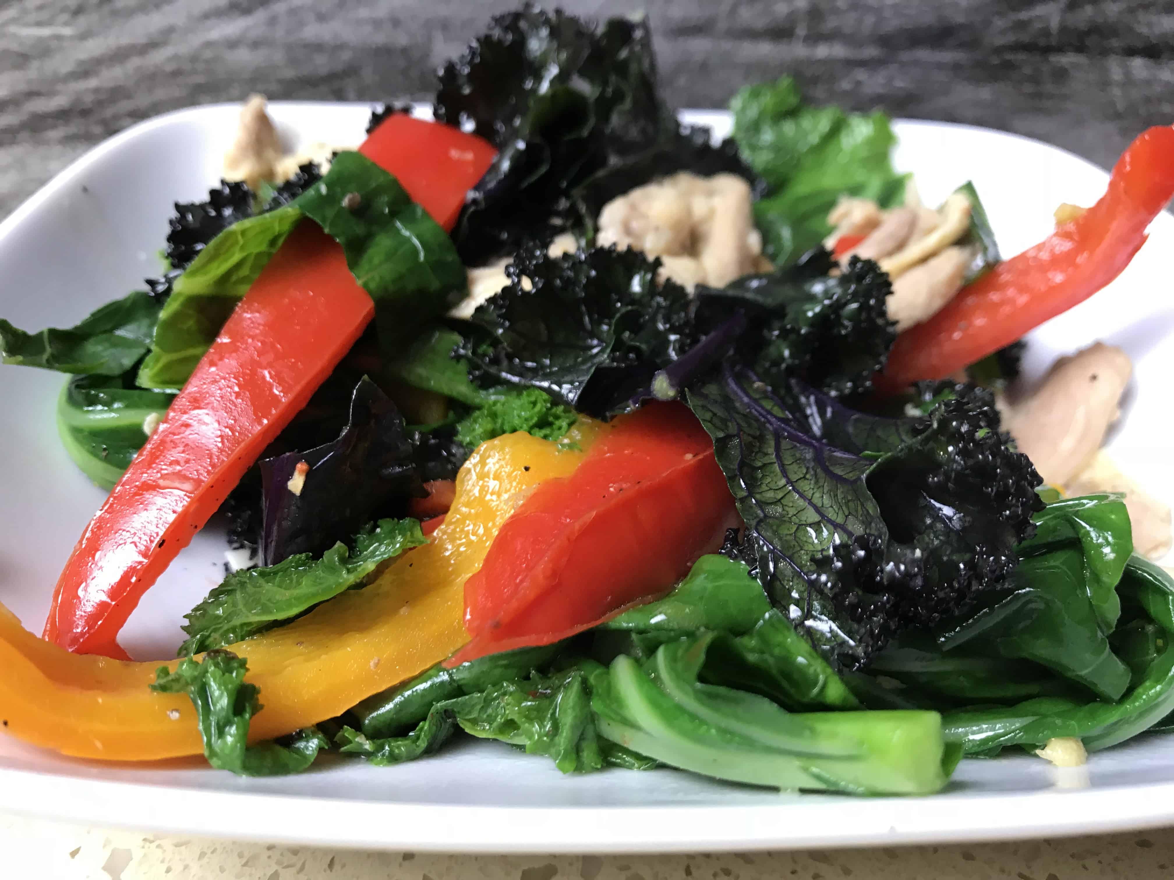 Keto Fried Salad