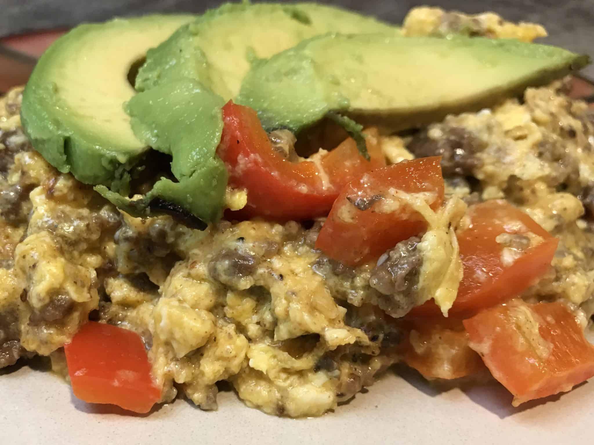 Keto Southwestern Skillet Breakfast