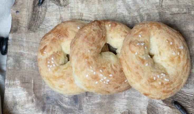 Keto Sesame Bagels