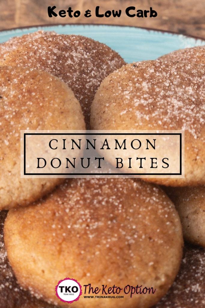 Keto Cinnamon Donut Bites
