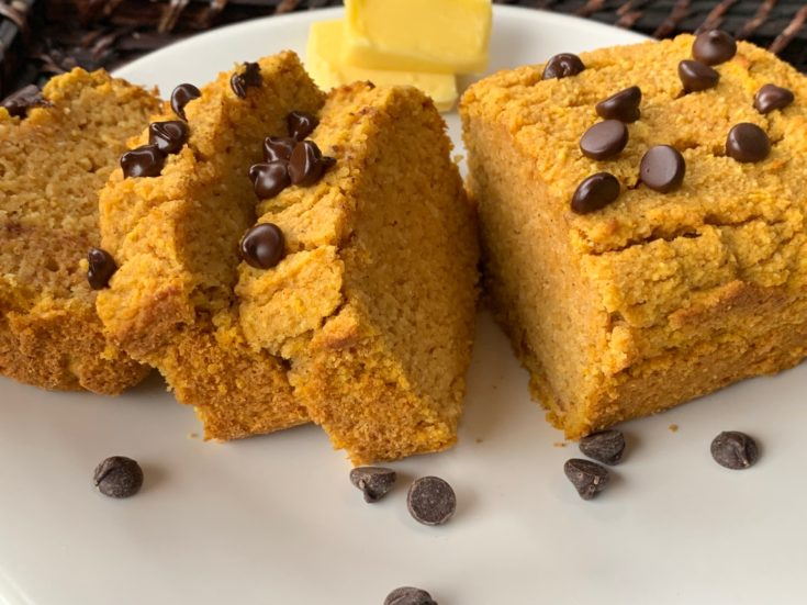 The BEST Keto Pumpkin Bread