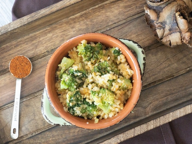 Low Carb Keto Broccoli and Cauliflower