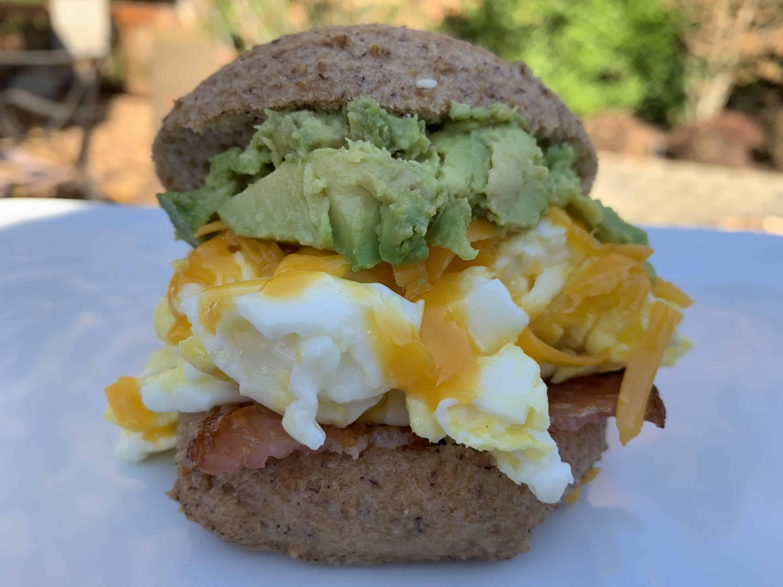 The Ultimate Keto Breakfast Sandwich