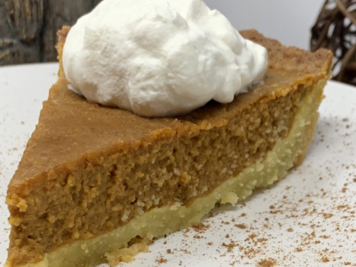 Keto Perfect Pumpkin Pie
