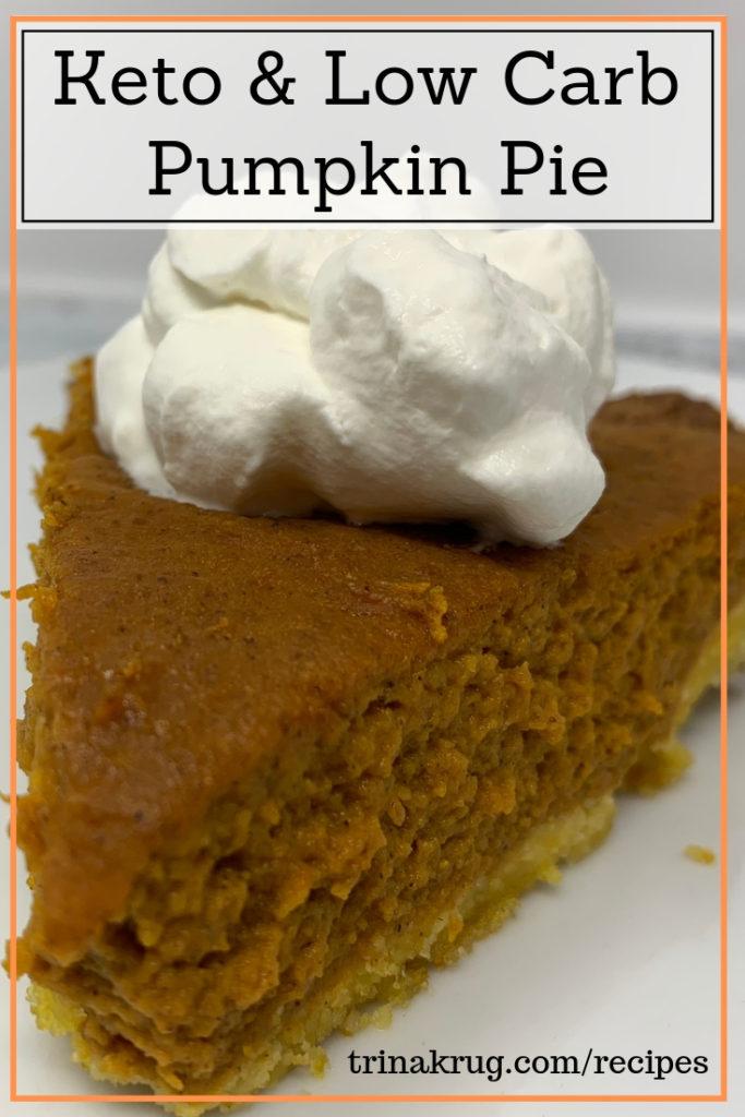 Keto Pumpkin Pie