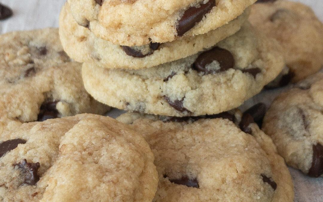 Keto Chocolate Chip Cookies | Trina Krug