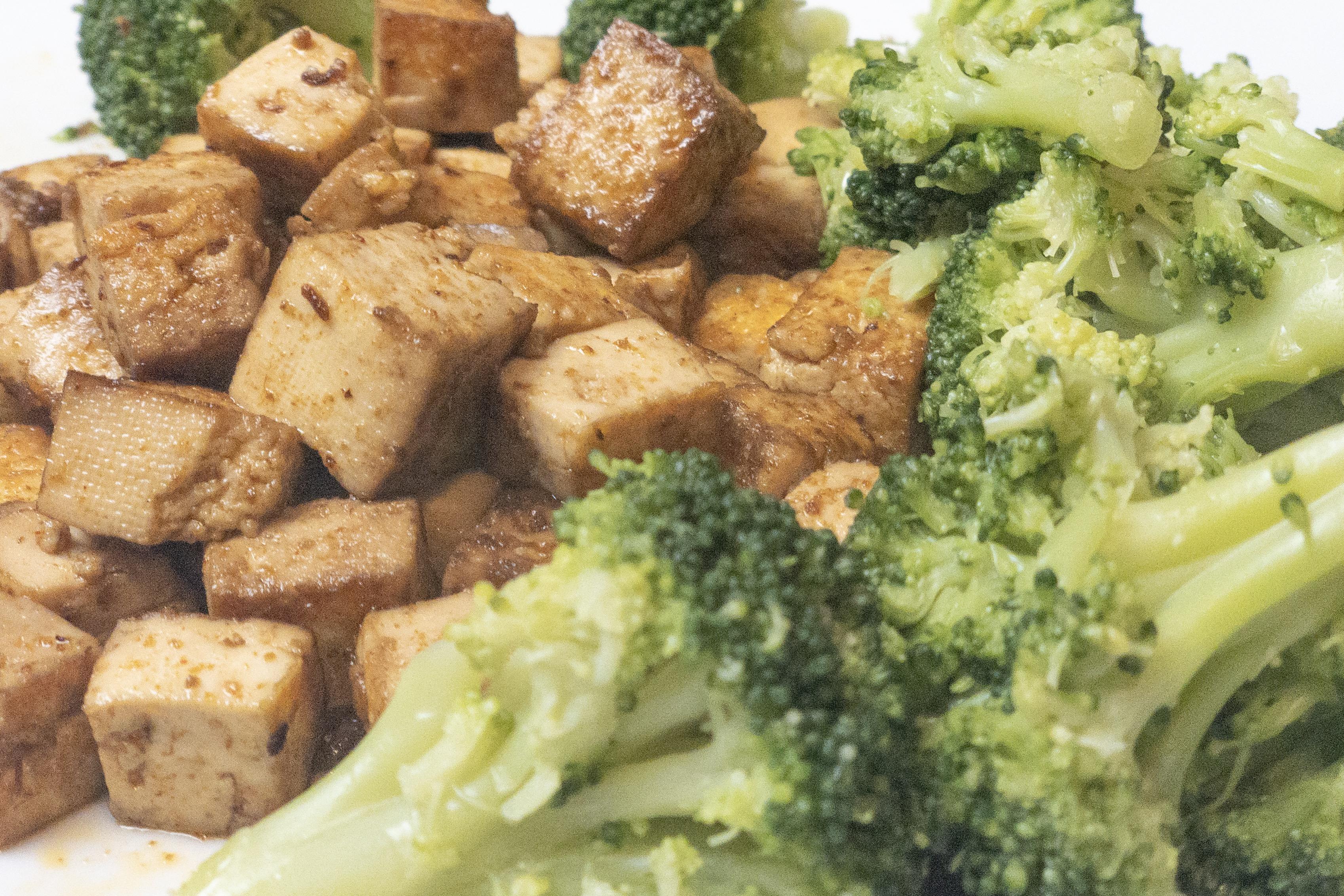 Keto Smoked Teriyaki Tofu