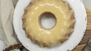 Keto Almond Maple Cake