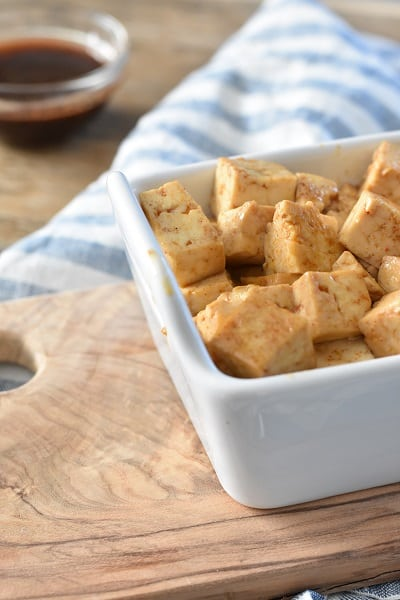 Smoked Keto Teriyaki Tofu