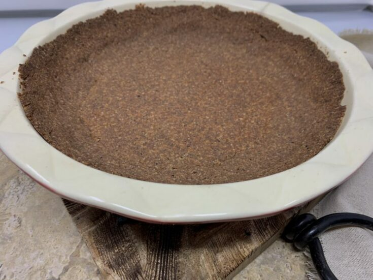 Chocolate Cookie Pie Crust