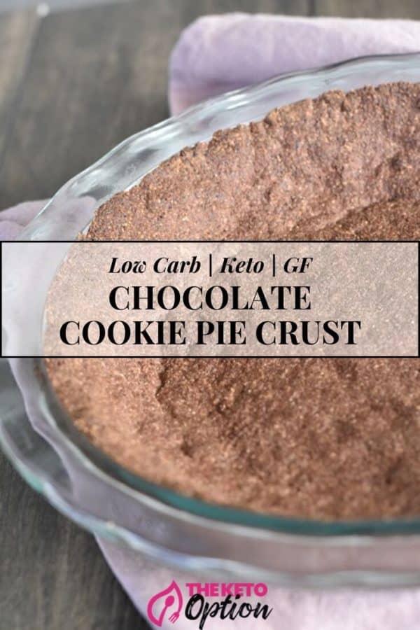 Keto Chocolate Pie Crust