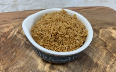 Perfectly Toasted Shredded Coconut
