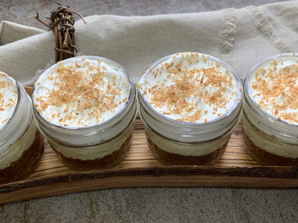 Keto No Bake Coconut Cream Pie