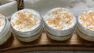No Bake Coconut Cream Pie Cups { Low Carb | Keto | Gluten-Free }