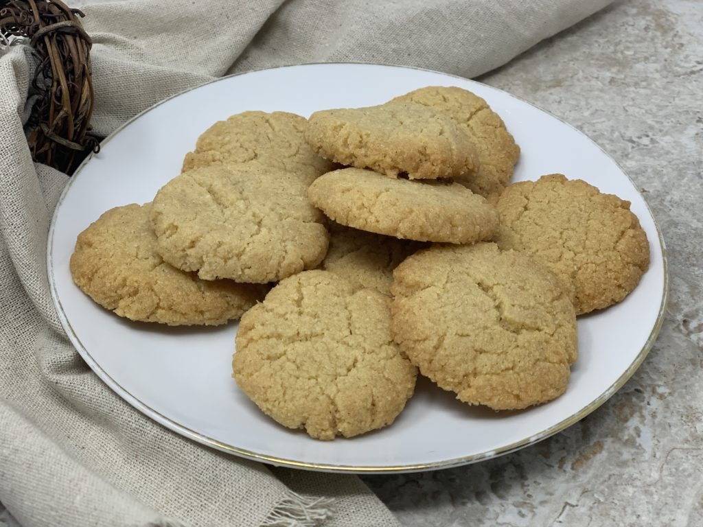 Keto Butter Glaze Cookies