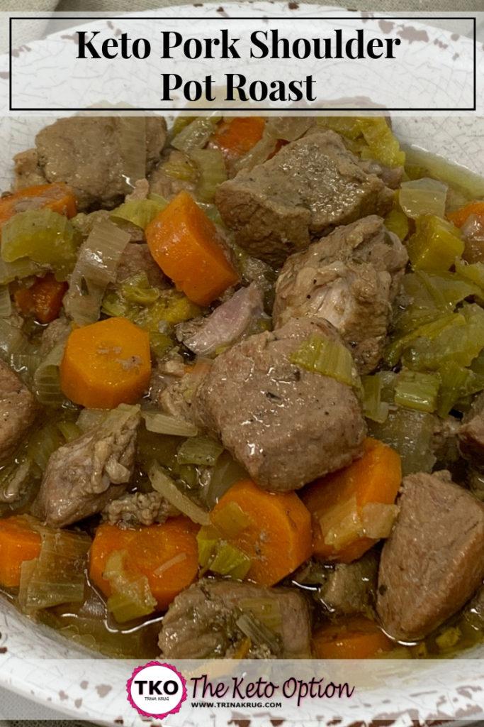 keto pork shoulder pot roast