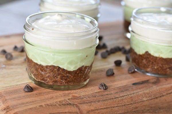 Keto Mint Cream Cups
