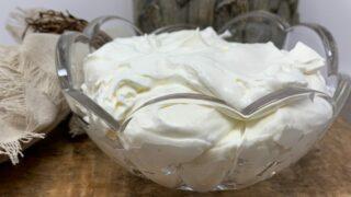 Keto Peppermint Whipped Cream