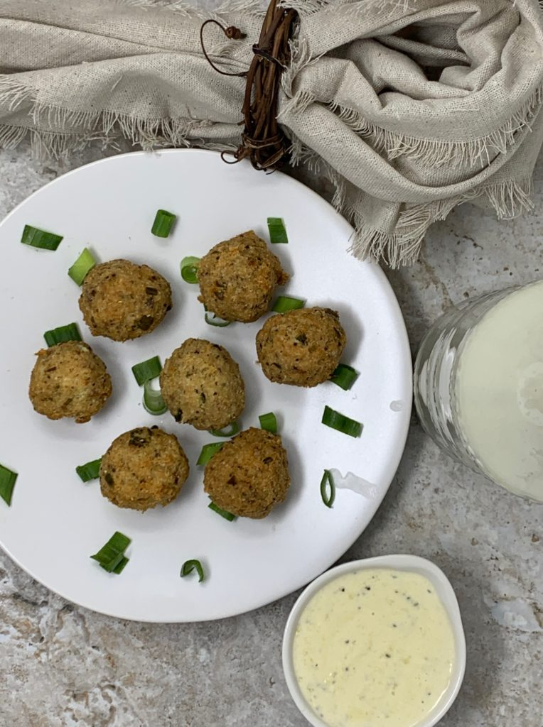 Keto Lemon Salmon Balls