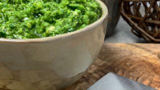 Garlic Lover's Pesto Spread