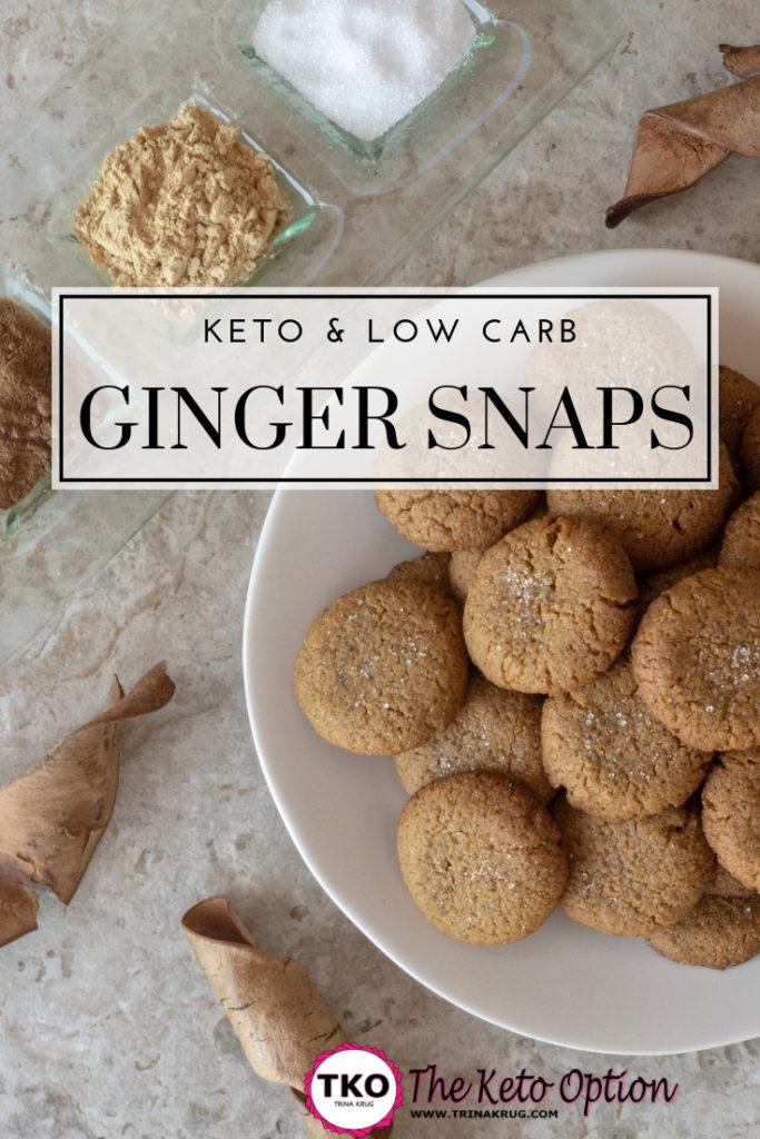 Keto Ginger Snaps