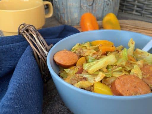 Cabbage and Kielbasa