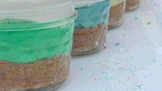 No Bake Coconut Dessert Cups { Low Carb   Keto   Gluten-Free }