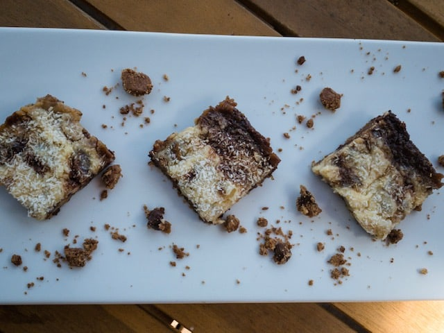 Keto Ooey Gooey Chocolate Chip Bars