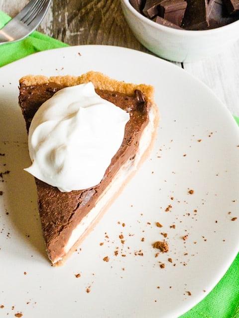 Keto Boston Cream Pie