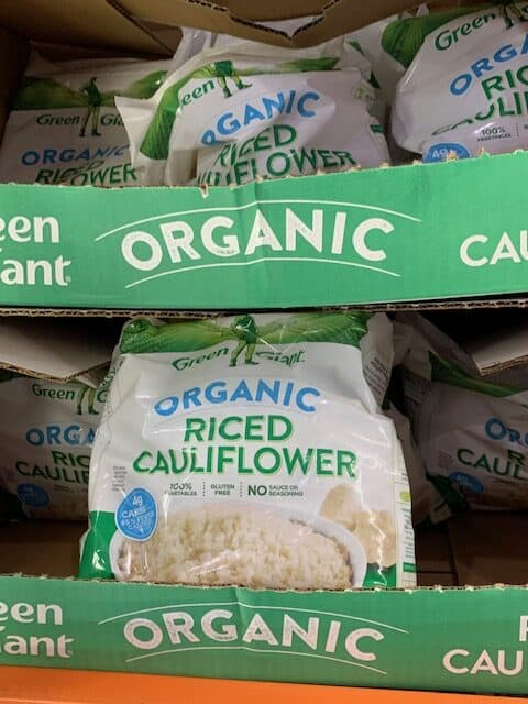 frozen cauliflower rice
