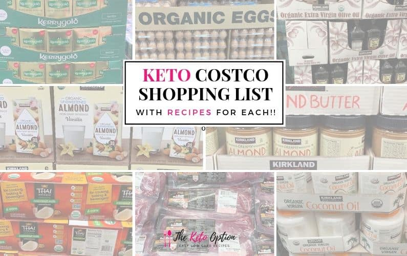 Keto Costco Shopping List
