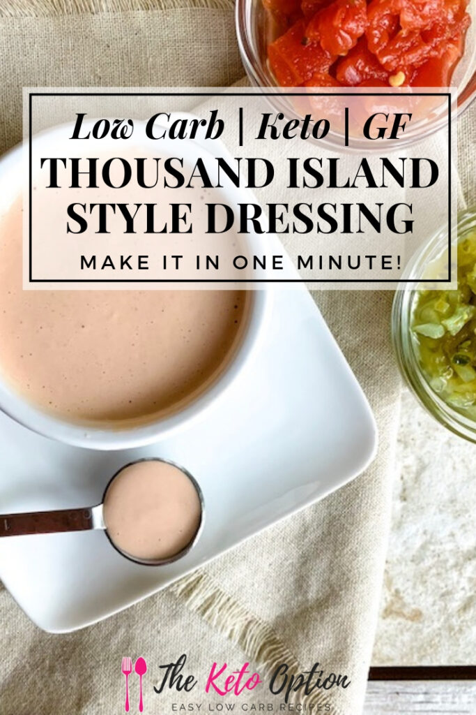 Keto Thousand Island Dressing
