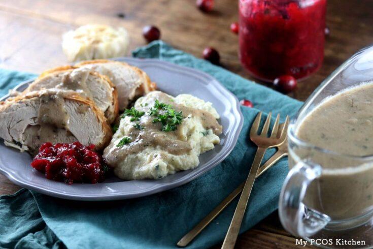 My PCOS Kitchen - Keto Turkey Giblet Gravy