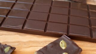 Salted Chocolate Bar with Pumpkin Seeds { Low Carb | Keto | GF }