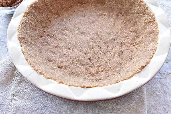 Graham Cracker and Toasted Pecan Pie Crust