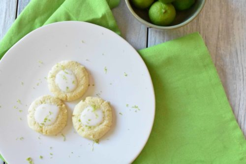 Key Lime Sugar Cookies { Low Carb | Keto | GF }