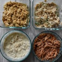 How to Keto Meal Prep With Shredded Chicken