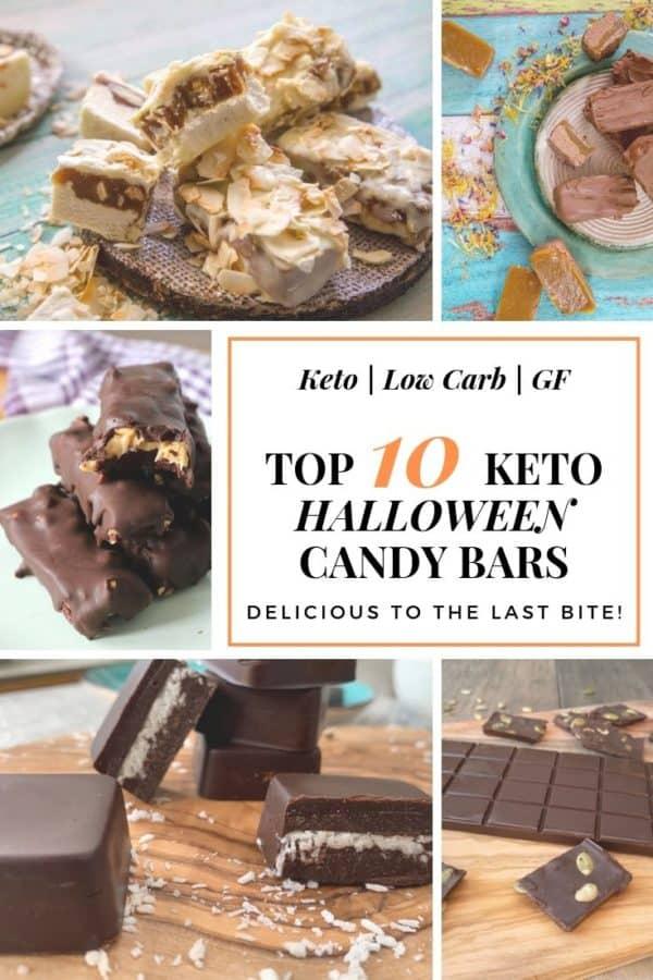 Top 10 keto halloween candy bars