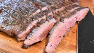 Broiled Flank Steak { Low Carb | Keto | GF }