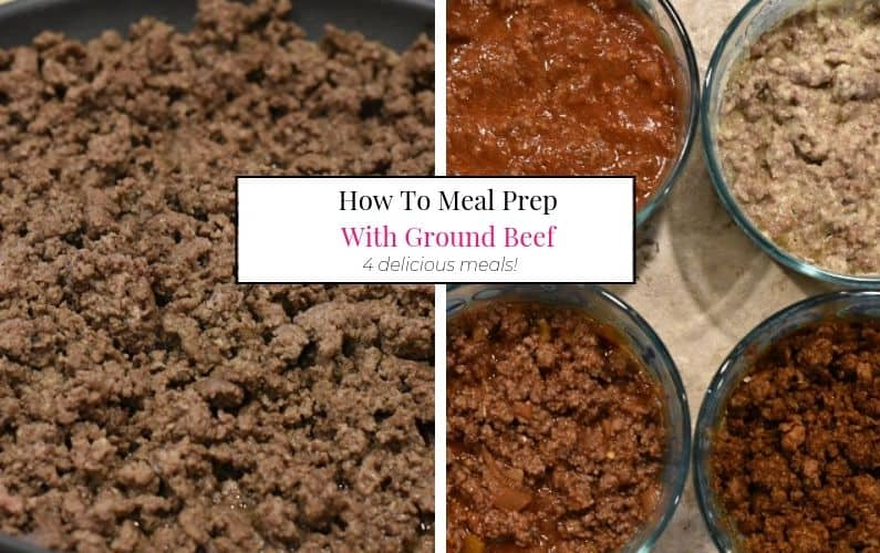 Ground Beef Meal Prep