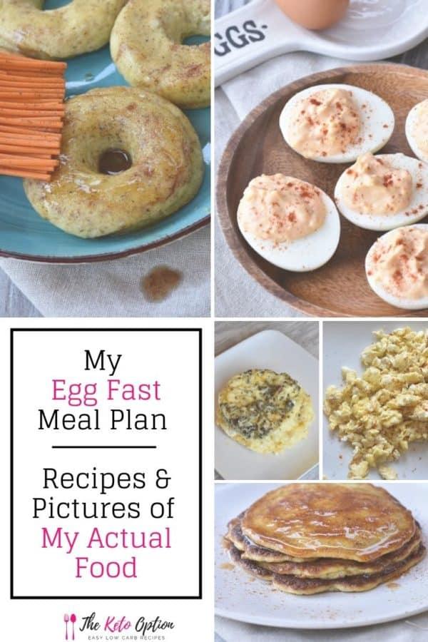 Keto Egg Fast Meal Plan
