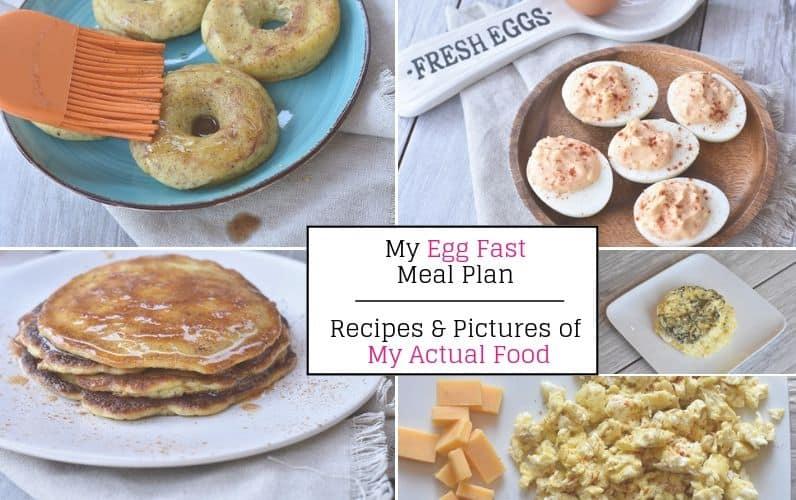 Keto Egg Fast Meal Plan tm