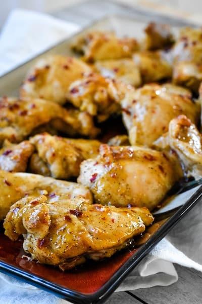 Keto Sticky Chicken