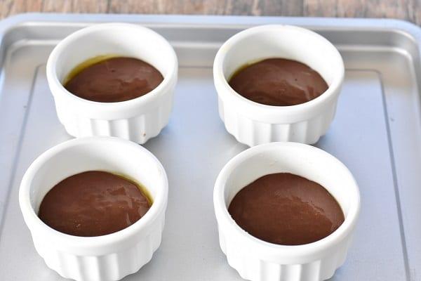 keto brownie in a mug